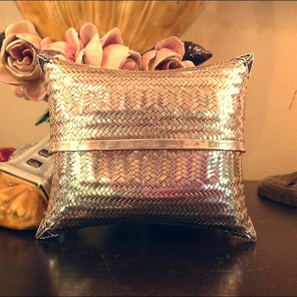 11bf62d7764c Vintage Bags   Sterling Silver Hand Woven Clutch   Poshmark